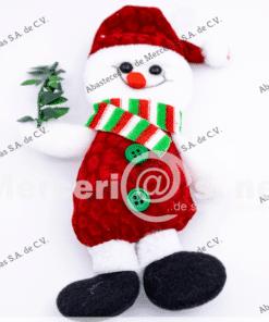 muñeco navidad mono de nieve mercerias.net