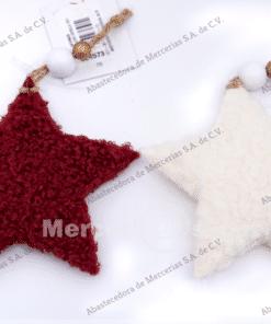 colgante estrella 10cm mercerias.net