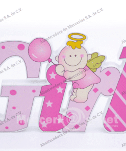 fig decorativa baby shawer girl mercerias.net