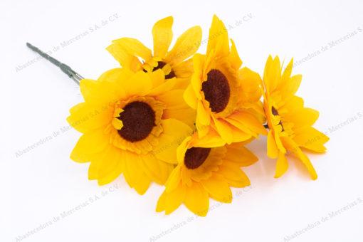ramo-girasol-color-amarillo-con-5-flores-artificial-de-venta-en-abastecedorademercerias.com